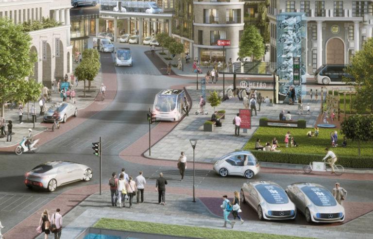 Mercedes dan Bosch 'Drive Test' Mobil Tanpa Awak