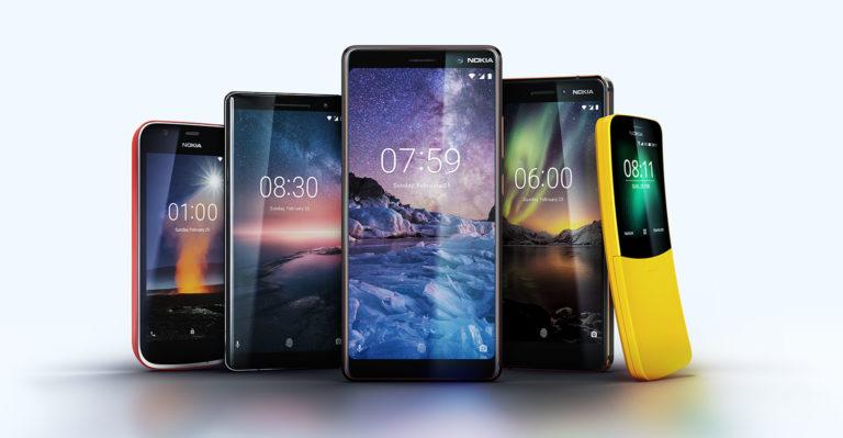 Nokia Sabet 21 Penghargaan di Ajang MWC 2018