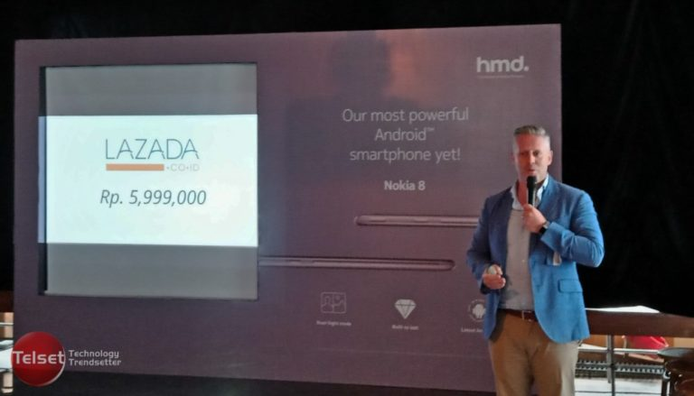Mendarat di Indonesia, Ini Harga Nokia 8