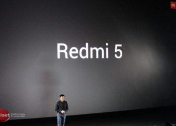 Xiaomi Redmi 5 resmi