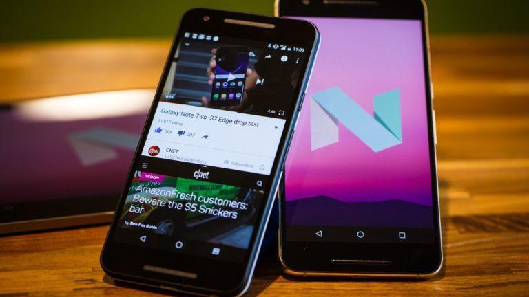 Nougat Paling Populer di Keluarga Android