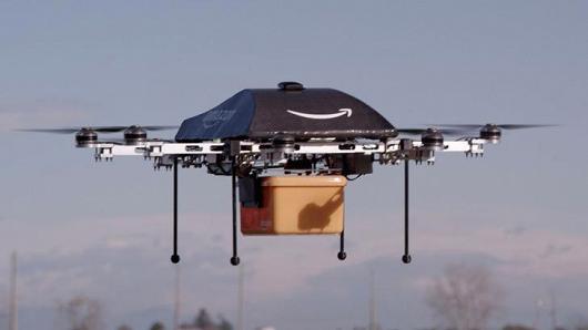 Drone Pengirim Amazon Bisa Respon Lambaian Tangan