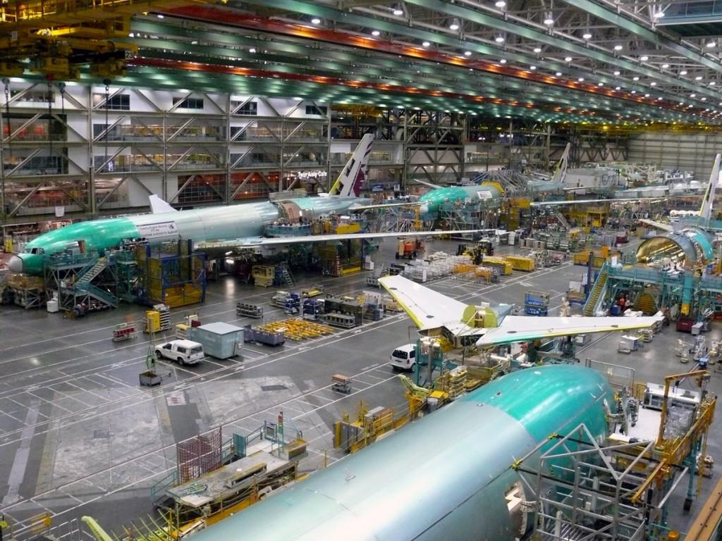Pabrik Boeing