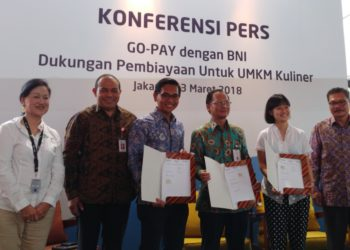 Go-pay dan BNI