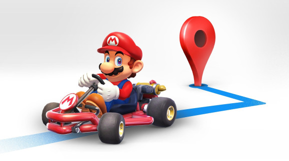 Jangan Kaget! Ada Mario 'Wara-wiri' di Google Maps