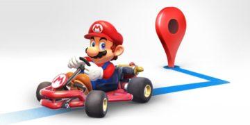 Super Mario di Google Maps