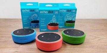 Echo Dot Kids Edition.
