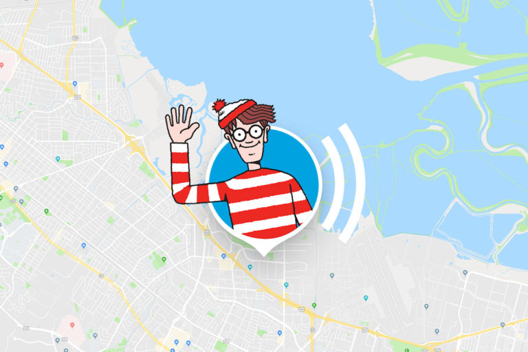 "April Mop, Google Maps Bikin Game ""Where's Waldo?"""