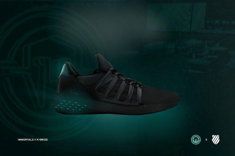 K-Swiss Rancang Sneaker Khusus Gamer