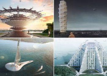 Bangunan pencakar langit yang akan menjadi kenyataan di masa depan