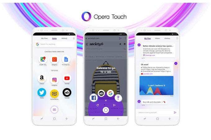Opera Hadirkan Browser Khusus untuk Ponsel Android