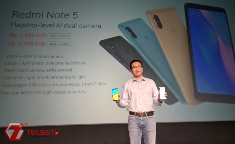 Gunakan Snapdragon 636, Ini Harga Xiaomi Redmi Note 5