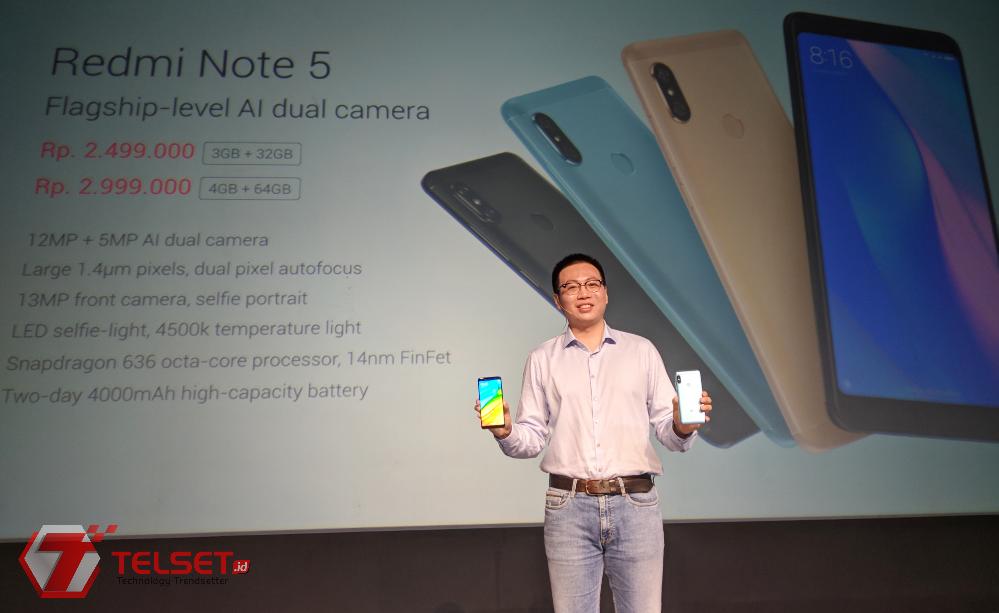 Harga Xiaomi Redmi Note 5