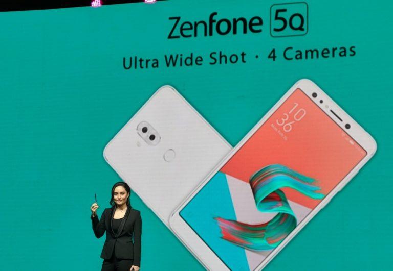 Asus Boyong Smartphone Empat Kamera, Asus Zenfone 5Q