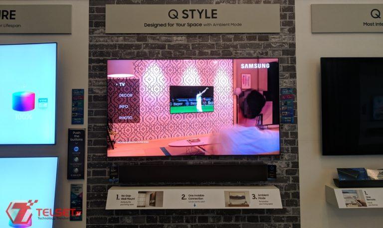 Samsung QLED TV 2018 Punya Kemampuan Bunglon, Kok Bisa?