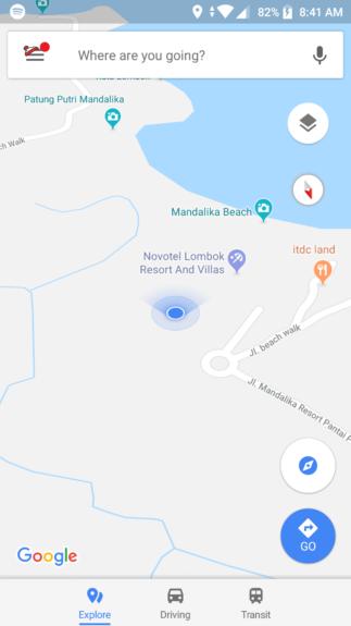 cara main game google maps