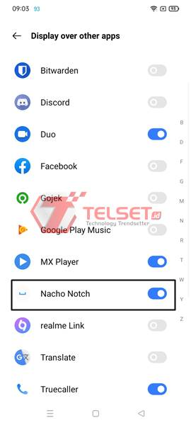 Cara menghilangkan notch poni di smartphone Android