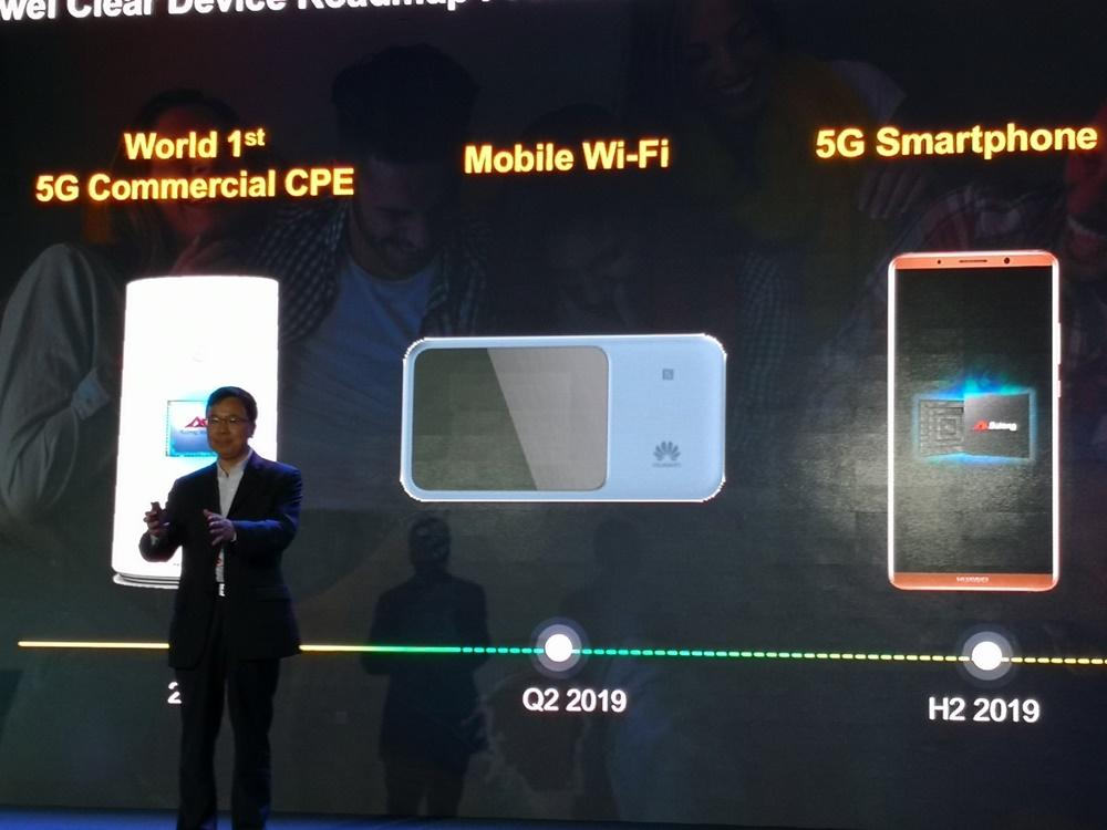 Smartphone 5G Huawei