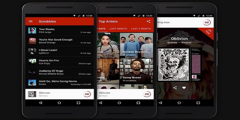 aplikasi musik last fm