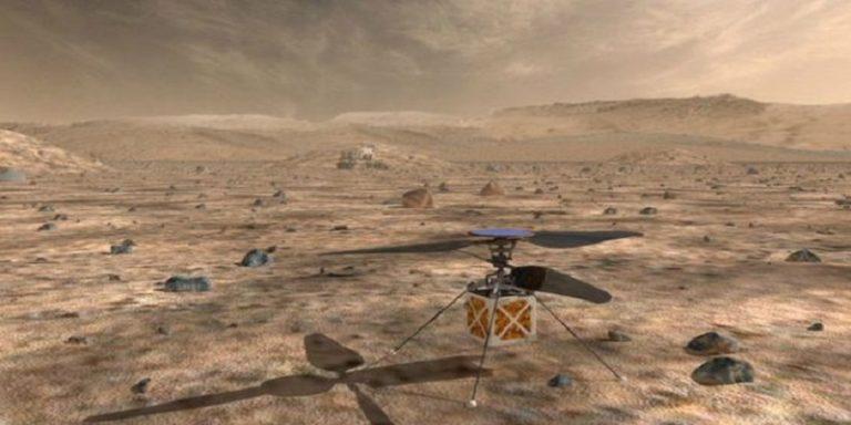 NASA Bakal Kirim Helikopter ke Mars
