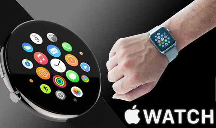 Layar Apple Watch