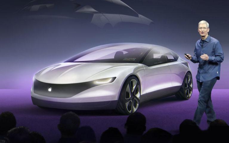 Pertama Unjuk Gigi, Mobil Otonom Apple Langsung Tabrakan