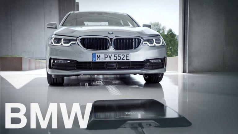 Keren! Mobil Listrik BMW Bisa Isi Daya Tanpa Kabel