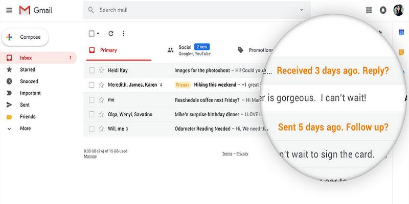 Fitur Baru Gmail Ini Ingatkan Email yang Terlewatkan