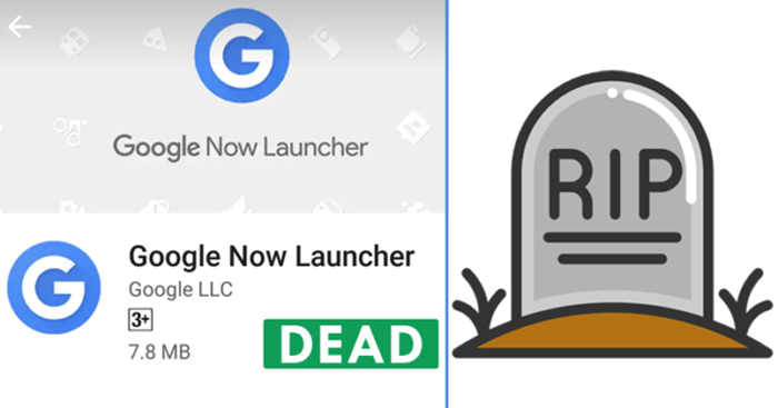Google Now Launcher dimatikan