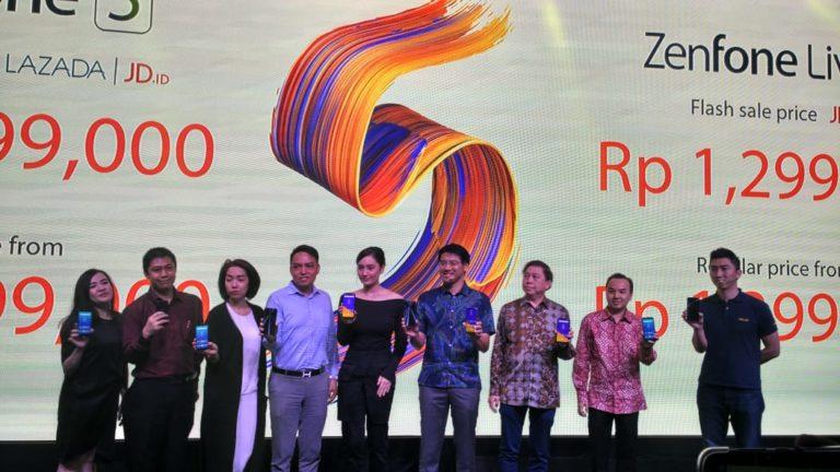 Resmi! Asus Luncurkan ZenFone 5 dan ZenFone Live L1