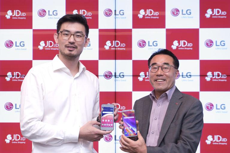 JD.id dan LG Bermitra Pasarkan LG K9 Edisi Spesial BTS