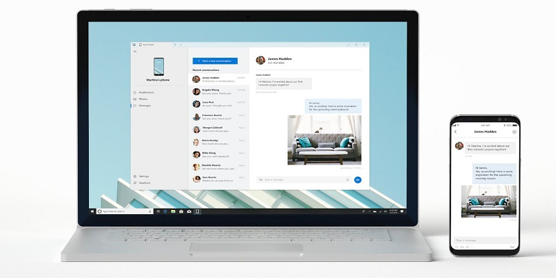 iMessage ke Windows 10