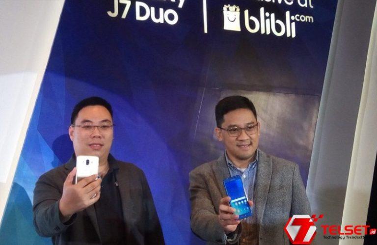 Samsung Galaxy J7 Duo, Dual Kamera AI Harga Ekonomis