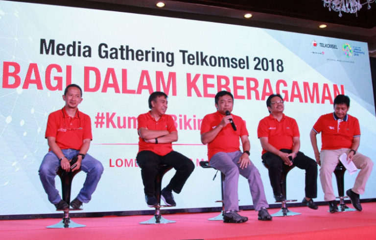 Jelang Lebaran, Telkomsel Bangun 12.000 BTS Multi-band LTE