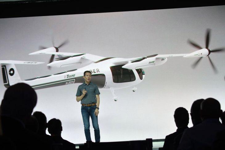 Pimpinan Proyek Mobil Terbang Uber Mundur