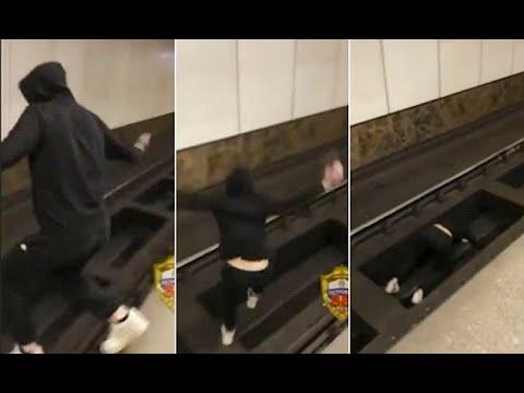 """Remaja Ini Nekat Tiduran di Rel Kereta demi Panen """"Like"""""""