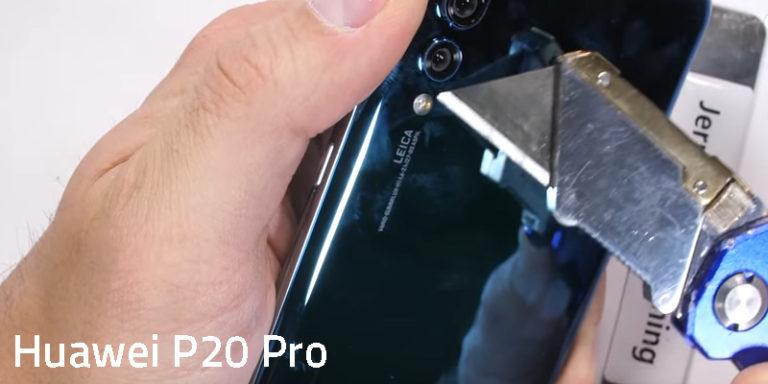 Setelah Dibengkokkan dan Dibakar, Begini Nasib Huawei P20 Pro