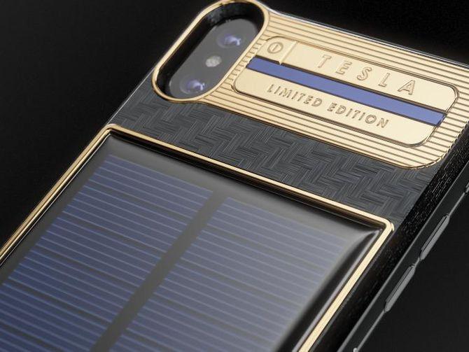 iPhone X Punya Edisi Tesla, Baterainya Tenaga Surya | Telset Telset.id iPhone X Punya Edisi Tesla, Baterainya Tenaga Surya