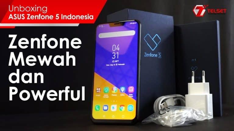 UNBOXING ASUS Zenfone 5: Zenfone Mewah dan Powerful