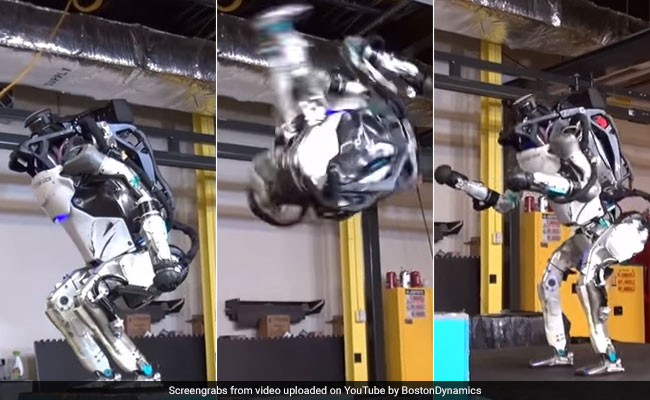 Robot Stickman yang Jago Koprol ke Belakang