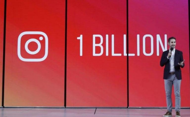 Jumlah Pengguna Instagram Tembus 1 Miliar