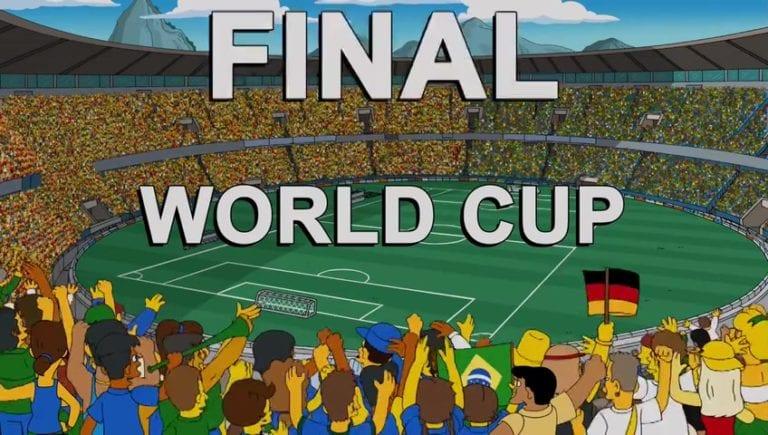 Ini Finalis Piala Dunia 2018 Versi The Simpsons