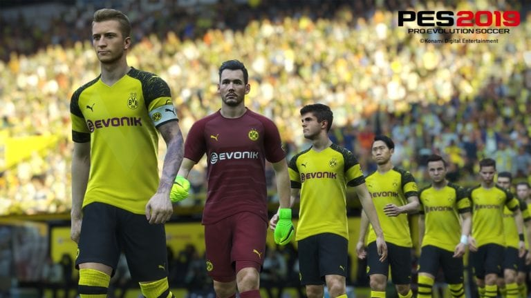Duh! Tidak Ada Borussia Dortmund di PES 2019 ?