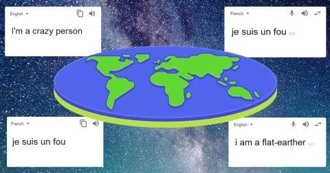 Kocak! Begini Cara Google Ejek Kaum Bumi Datar
