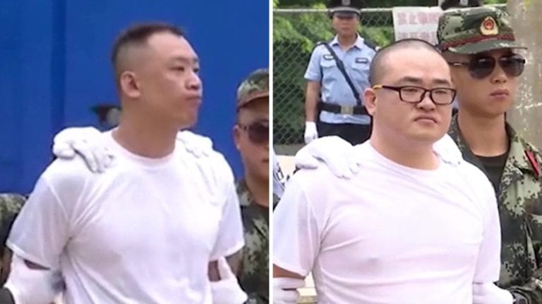 Viral! Video Eksekusi Mati Terpidana Narkoba di China