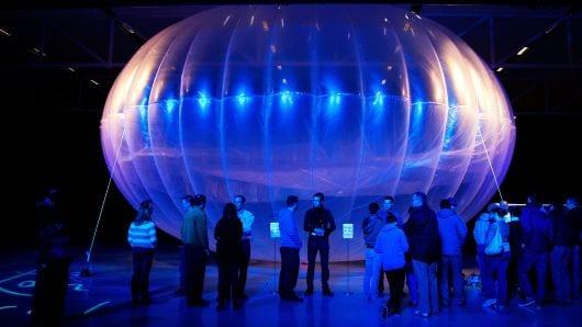Pakai Balon Udara, Google Sediakan Akses 4G di Kenya