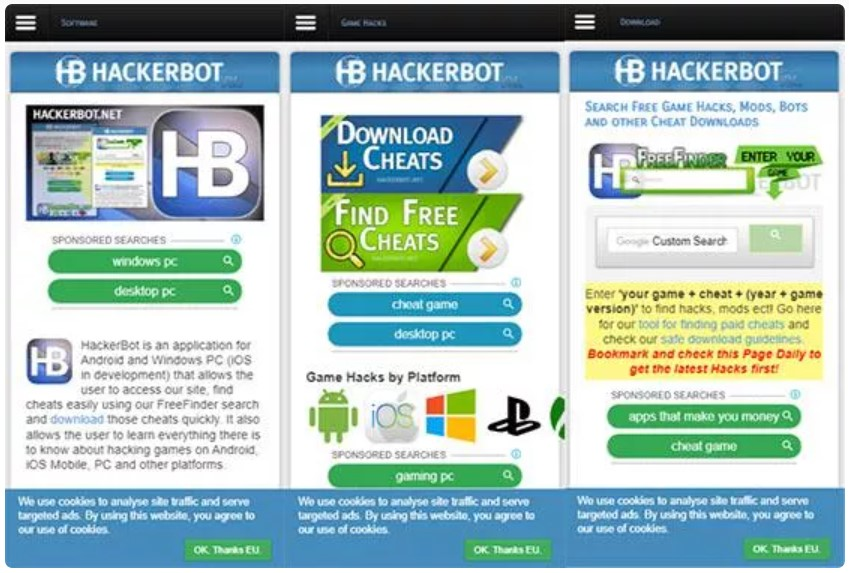 Aplikasi Cheat Cheater Hack Game Online Terbaik