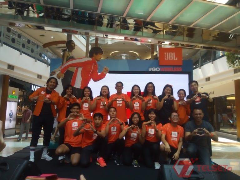 Dekati Komunitas Lari, JBL Bentuk Tim 'Orange Squad'