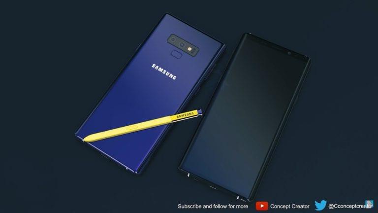 Keren! Ini 4 Pilihan Warna Galaxy Note 9