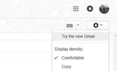 cara mengubah tampilan gmail